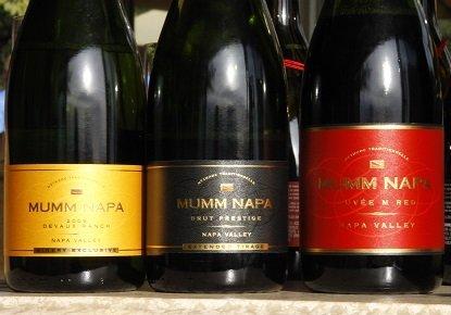Champagne Mumm Napa