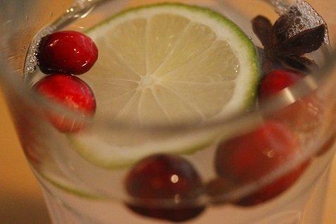 Warme limoen limonade