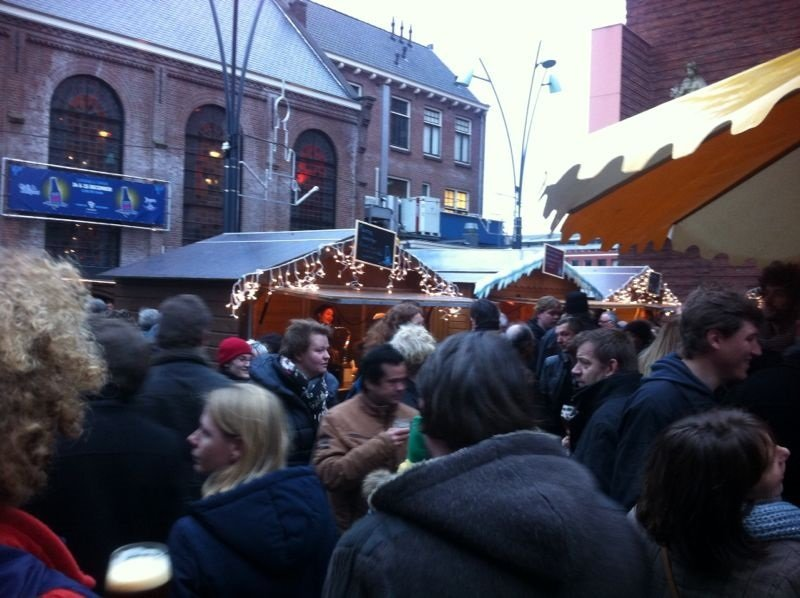 Kerst Biermarkt bij Jopen in Haarlem