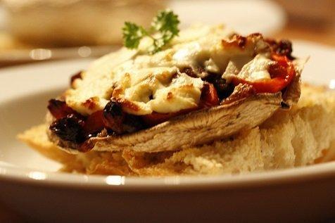 Portobello eet smakelijk!