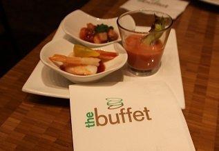 The Buffet Aria Vis Voorgerecht