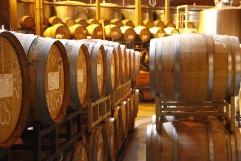 Wijnvaten Chappellet Napa Valley