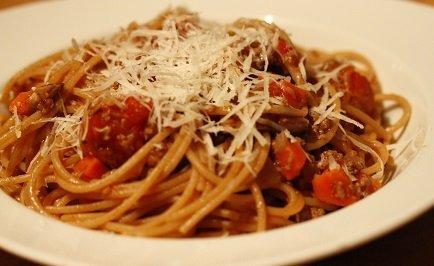 snelle verse spaghetti bolognaise