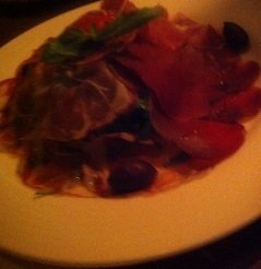 Italiaanse ham, salami