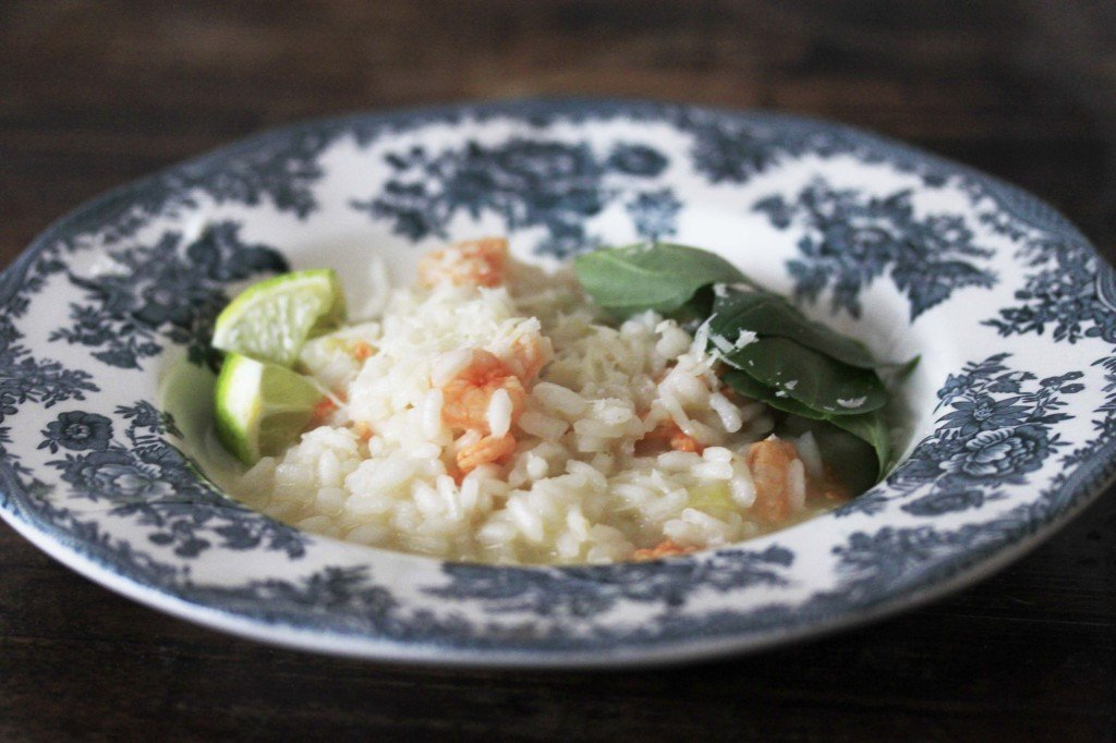 Limoenrisotto met garnalen nom nom nom tag foodblog foodinista