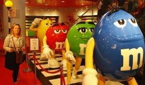 Londen M&M storen lekker eten