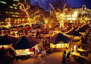 Favoriete kerstmarkten kerstmarkt Boedapest