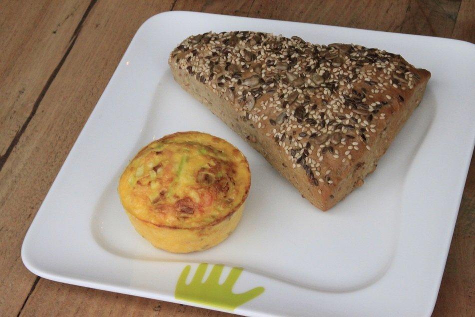 Ei muffin met groente ontbijt recept foodblogger Foodinista gezonde recepten top 5