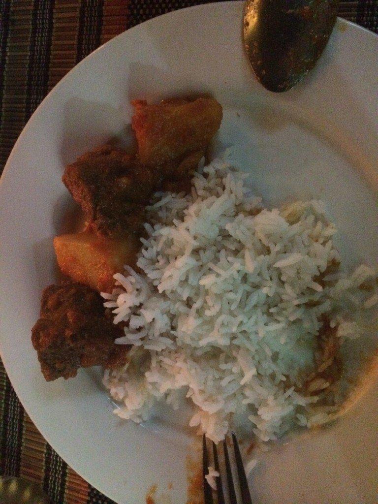 Eten in Bagan Myanmar Beef Curry