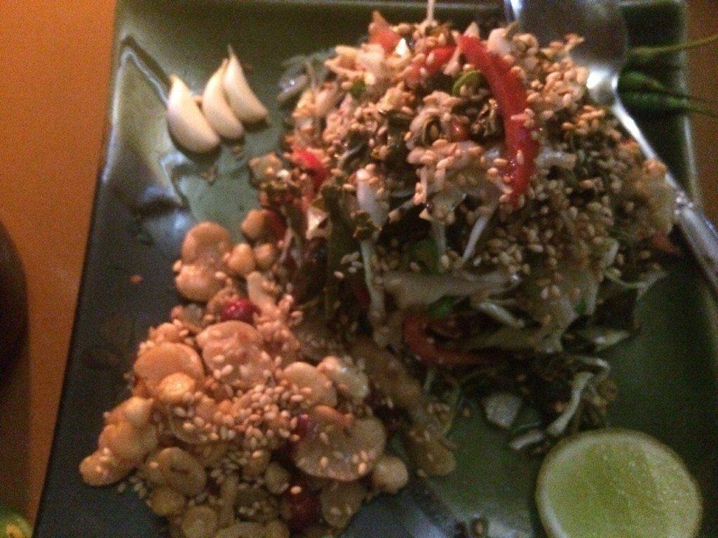 Tea Leaf Salad Bamboo Hut Inle Lade
