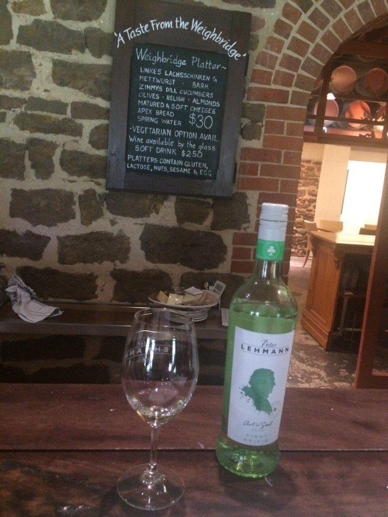 Wijnproeven Barossa Valley