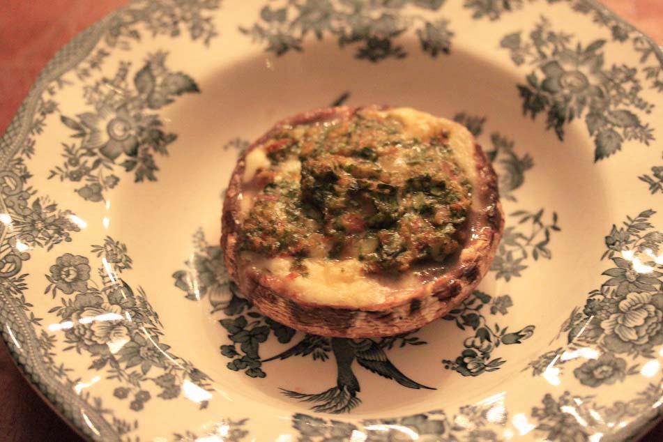 Gevulde portobello met frisse tapenade recept
