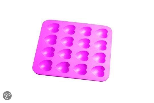 silliconen mat hartvormpjes voor chocolade