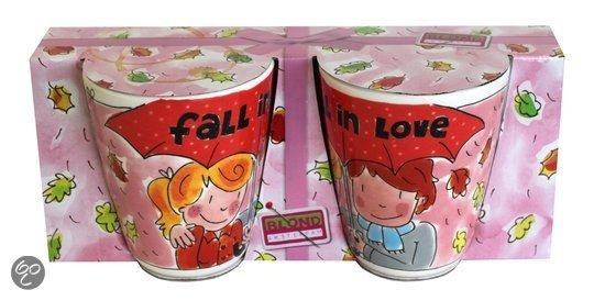 Blond Amsterdam valentijn cadeau tip valentijn bekers