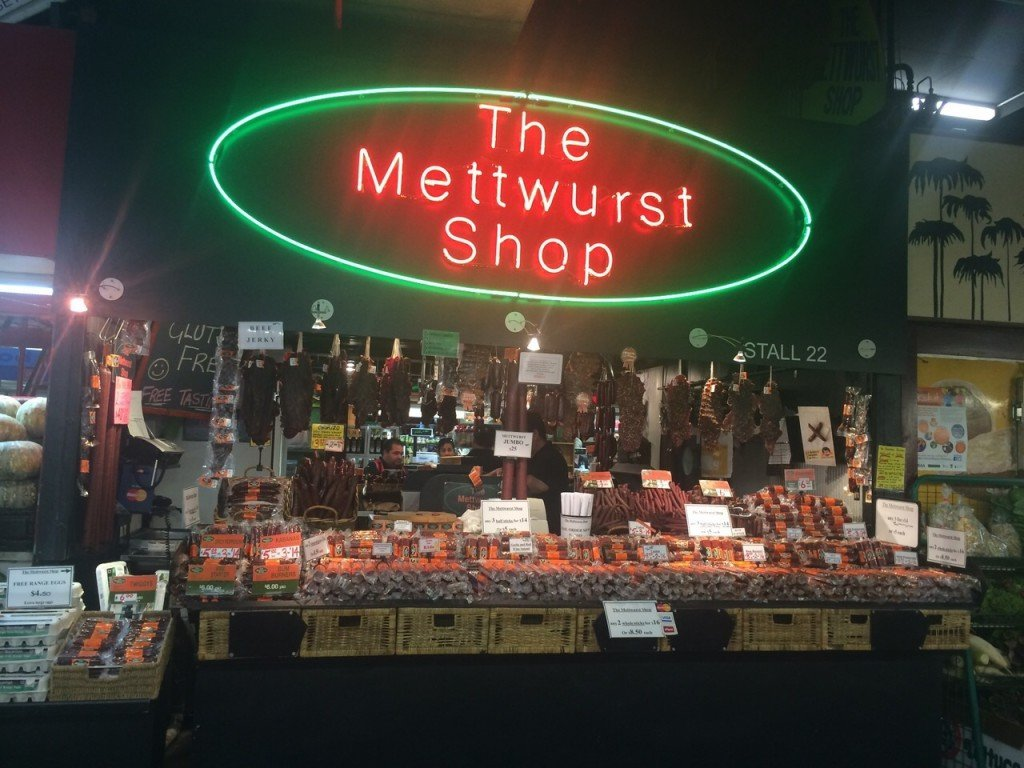 Markthal Adelaide the Metwurst Shop