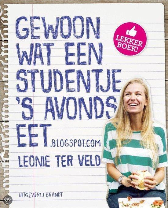 Kookboek Tip Gewoon wat een studentje 's avonds eet foodblog