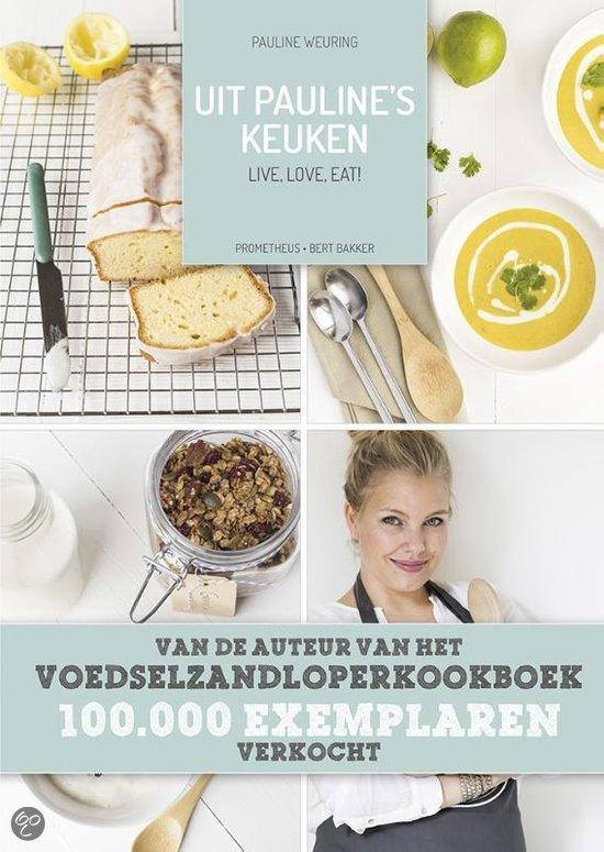 nieuw kookboek uit Pauline's keuken
