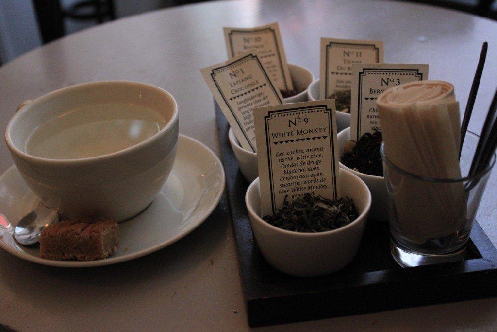 Thee bij theesalon Lapsang Den haag restaurant tip