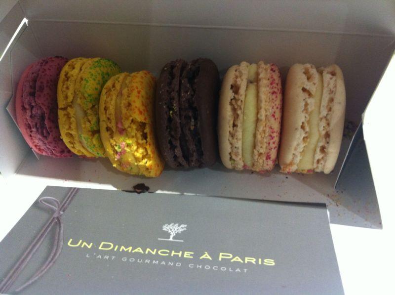Macarons in Parijs