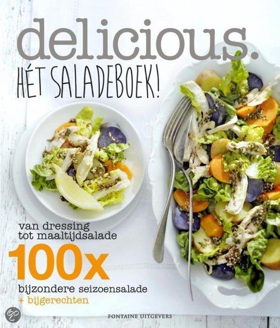 Nieuw kookboek Delicious Het Saladeboek