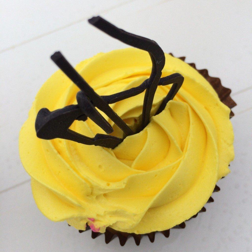 Proef de oceanroad Lemon cupcake met Lemoncurd