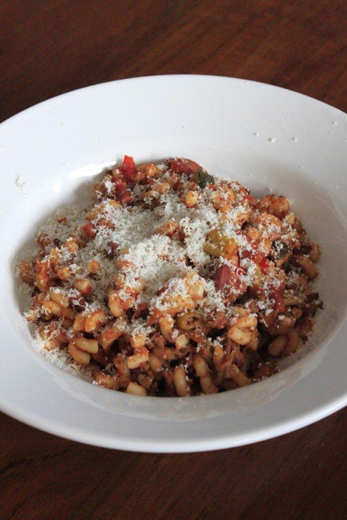 Macaroni zonder pakjes en zakjes