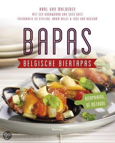 Nieuw kookboek april bapas belgische biertapas
