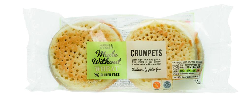 Glutenvrije crumpets van M&S eetnieuws