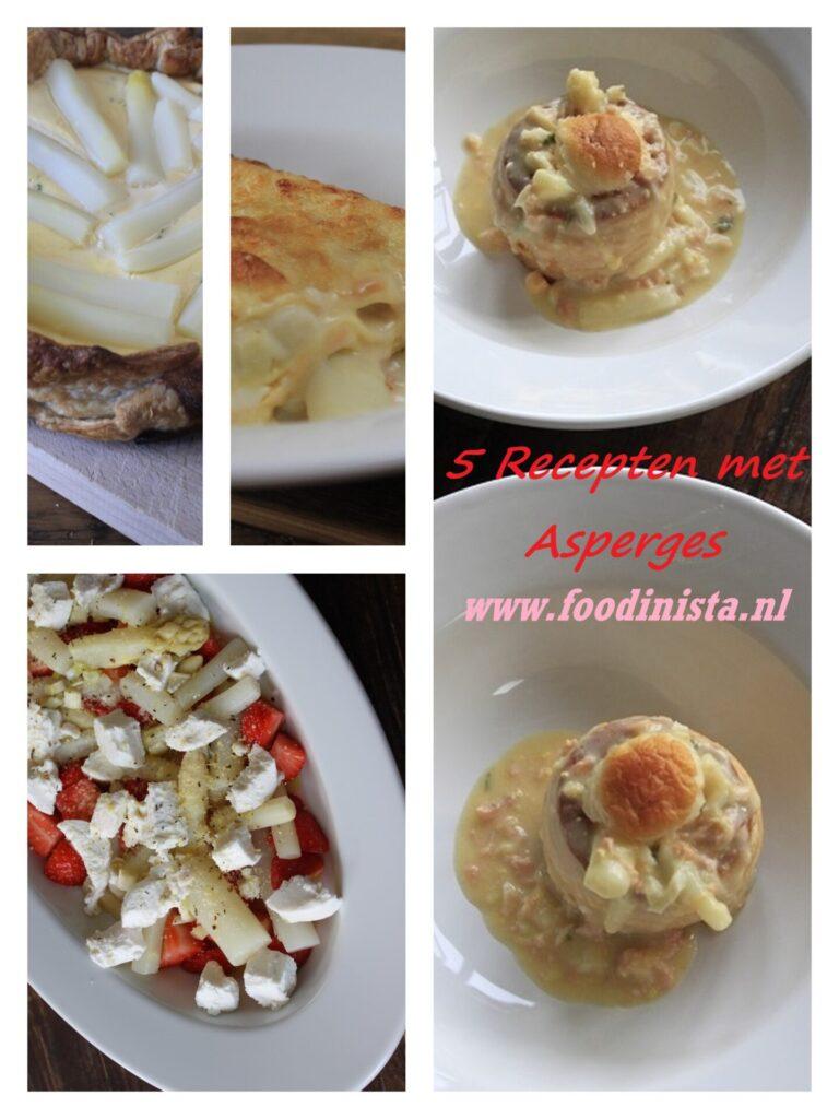 5 Recepten met asperges - Asperges bereiden in leuke recepten - Foodblog Foodinista