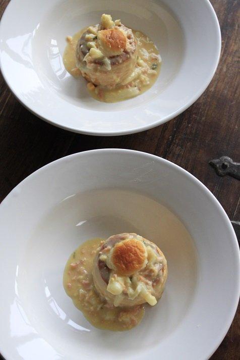 ragout met asperges en zalm recept