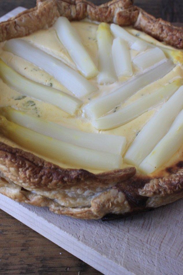 hartige aspergetaart recept