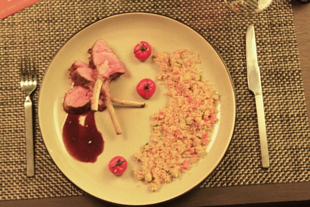 lamsvlees met couscous