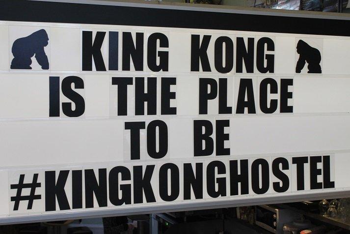King Kong Hostel hotspot WItte de Withstraat Rotterdam tips