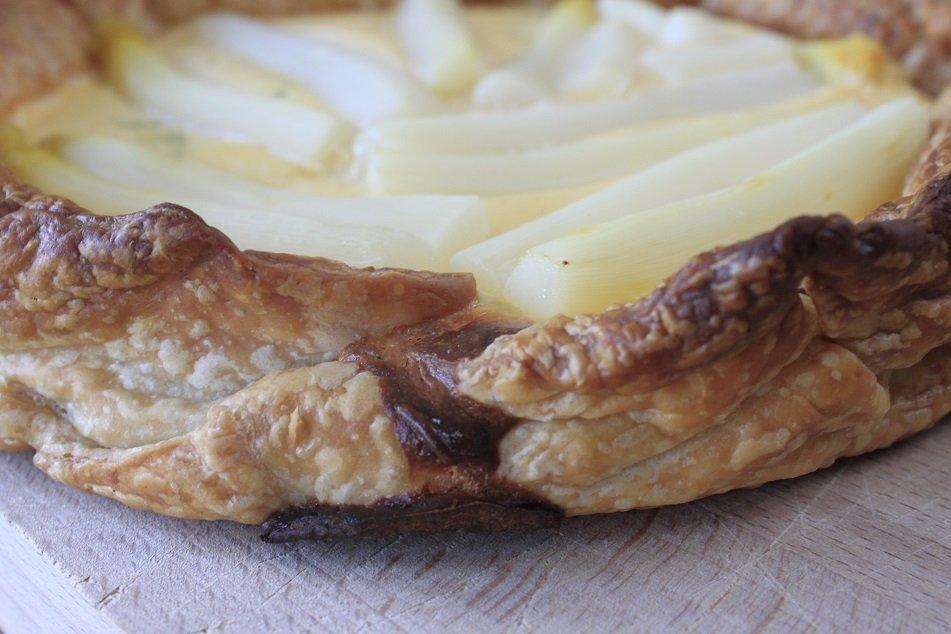 hartige aspergetaart recept foodblog foodinista