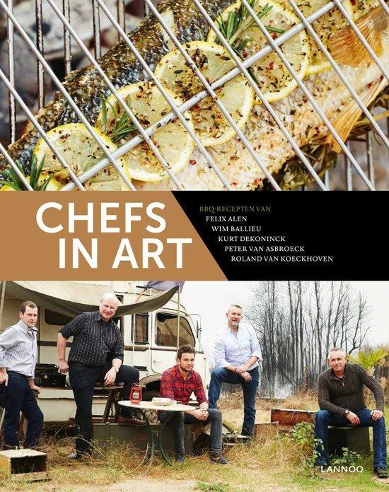 Chef's in Art buitenkeuken kookboek tip vaderdag cadeau