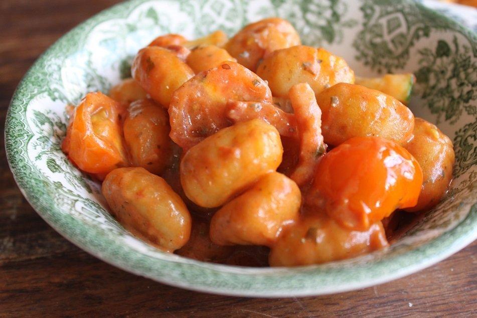 Gnocchi recept foodblog Foodinista