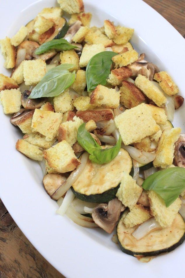 Italiaanse groene groente salade foodblog Foodinista recept