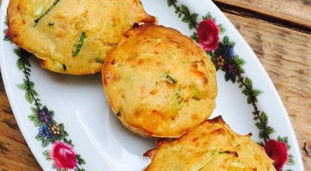 Groentemuffins recept foodblog Foodinista