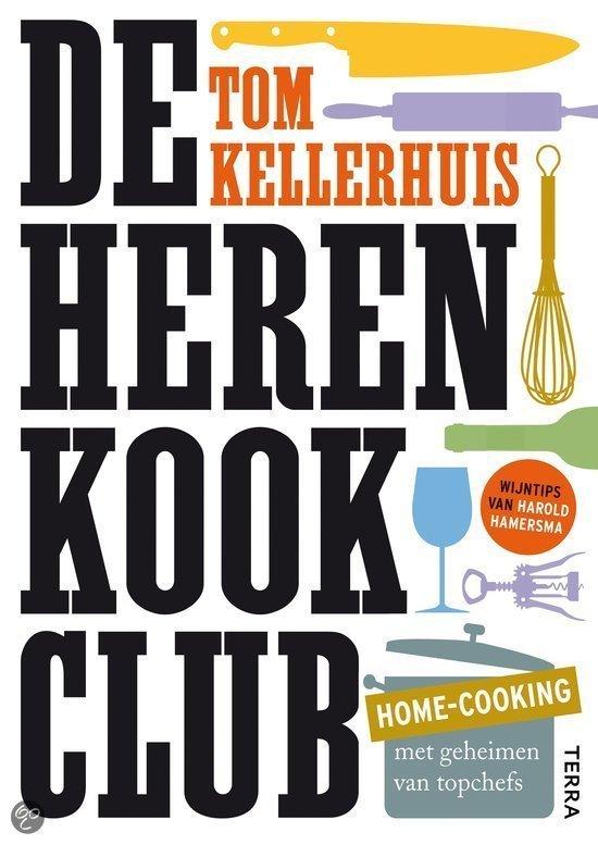 Herenkookclub kookboek foodblog Foodinista vaderdag cadeau tip