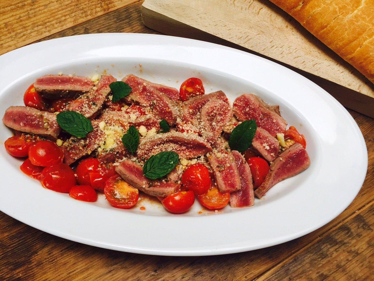 Recept Italiaanse biefstuksalade foodblog Foodinista