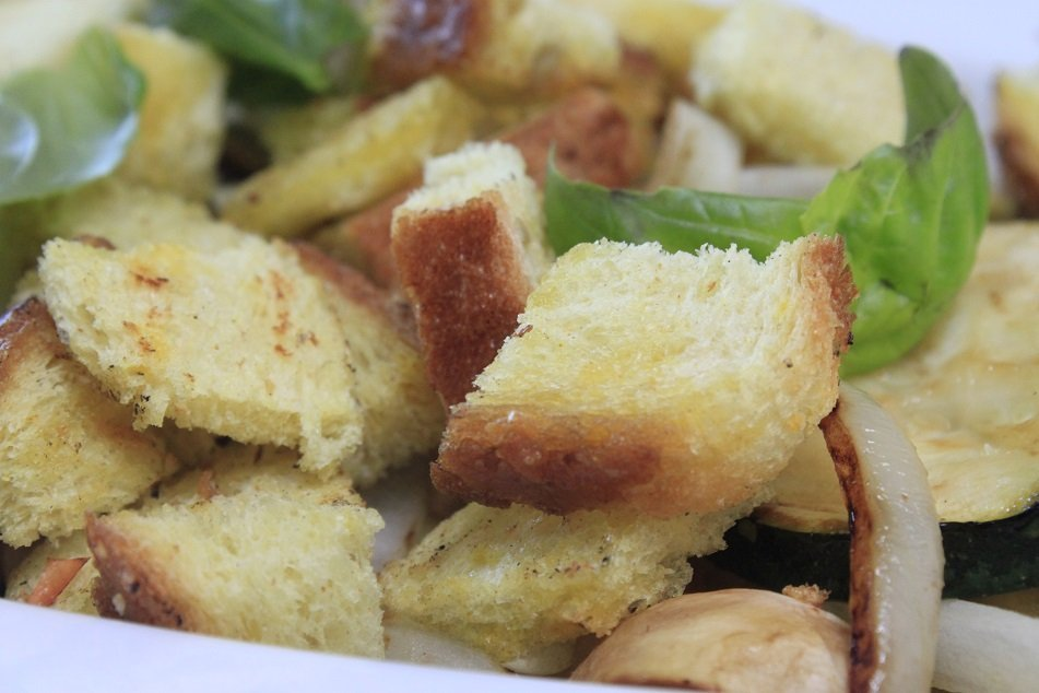 groene groente salade lauw warm lunch diner recept eetblog Foodinista