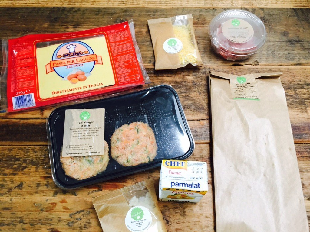 HelloFresh unboxed uitgepakt maaltijdbox getest foodblog Foodinista
