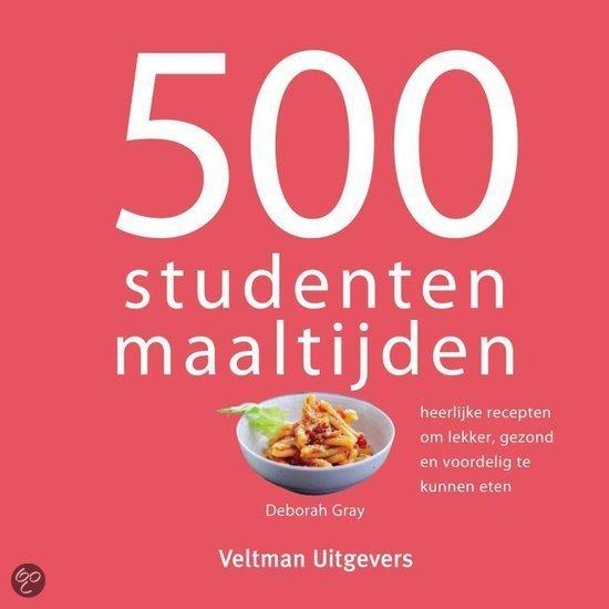 studenten cadeau tip 500 studenten maaltijden kookboek