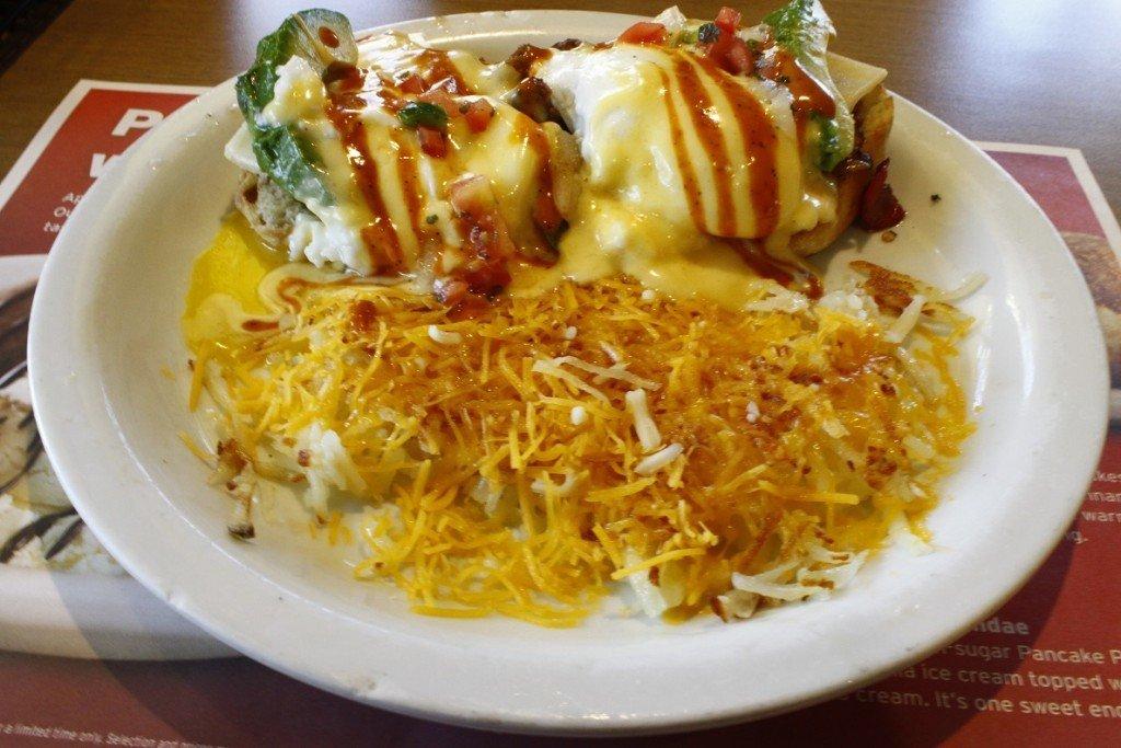 American Breakfast in San Francisco met samosa Foodblog Foodinista vakantie foodcravings