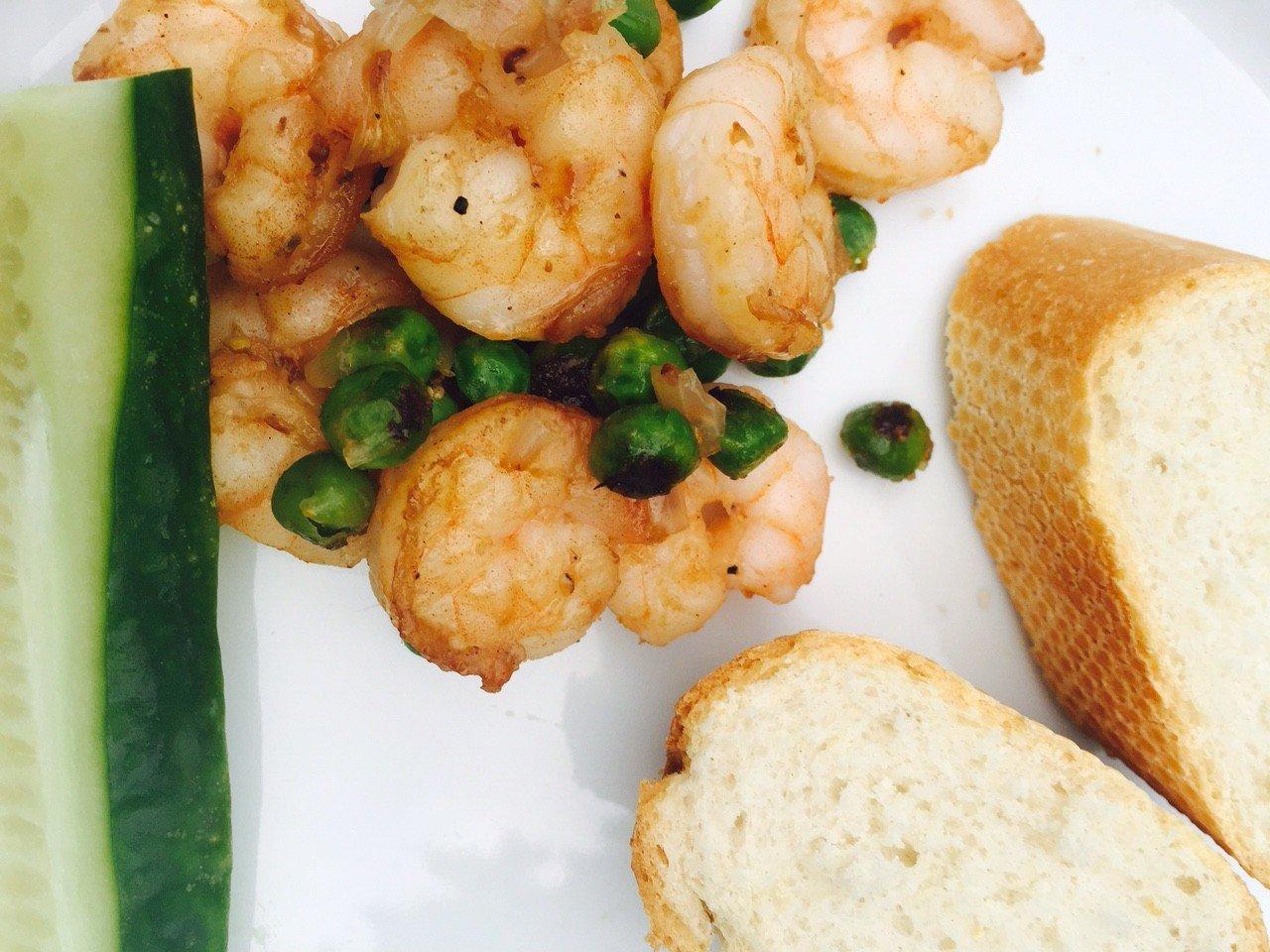 Knoflookgarnalen barbecue recept foodblog Foodinista