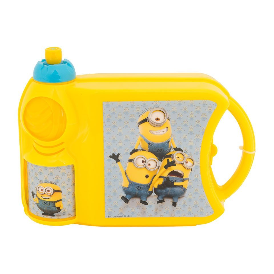 Minions lunch trommel kinderen school lunchbreak shoptip foodblog Foodinista