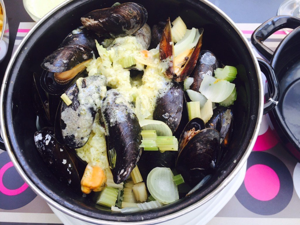Mosselen eten in Antwerpen belgië foodblogger Foodinista