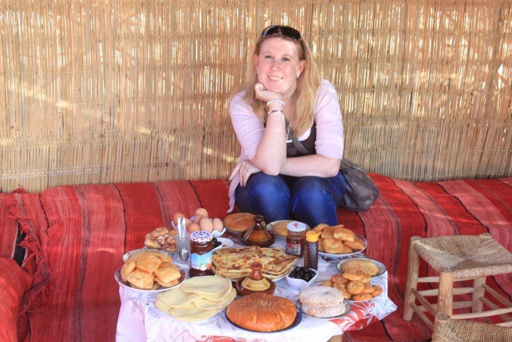 Ontbijt in Marokko Marrakech