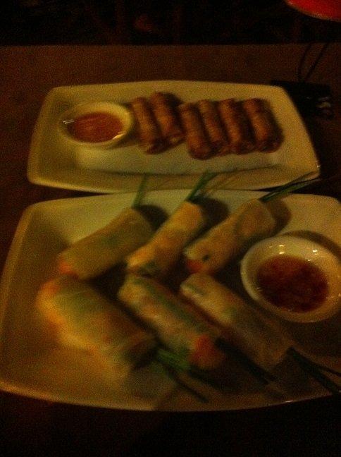 Eten op reis loempiaatjes in Vietnam foodblog Foodinista