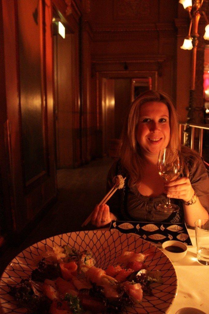 Vis en sushi in Stockholm is voordelig